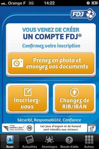 FDJ Scan pour mac