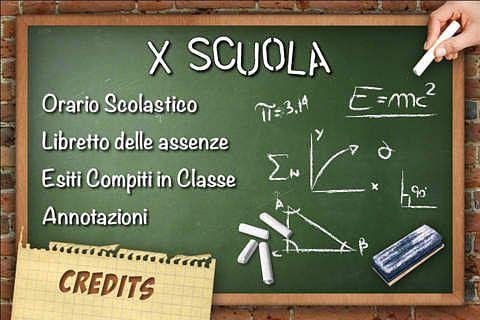 X Scuola pour mac
