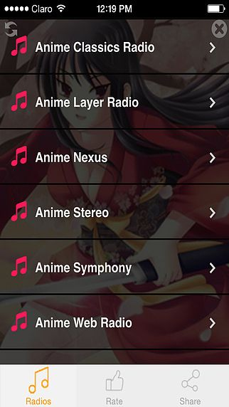 'Anime Music: the Best Kpop and Jpop Radios pour mac