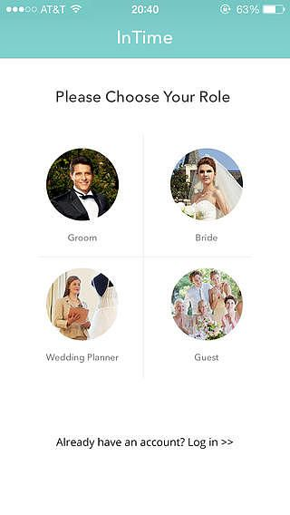 InTime - The Ultimate Social Wedding Planning App pour mac