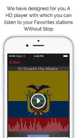 'Ecuatorian Radios Free: The Best Stations of Ecuador with Music pour mac