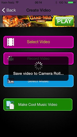 Easy Music Video Maker: Music   Video = Musicvideo pour mac