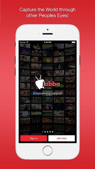 Jabba - Live Video Broadcasting pour mac