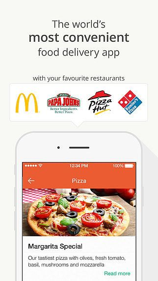 Hellofood - Food Delivery pour mac