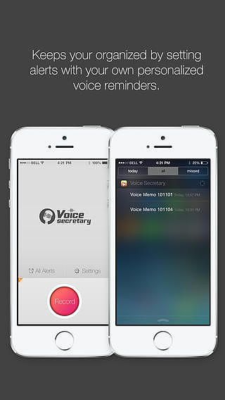 Voice Secretary - Personal Voice Assistant with Voice Reminder,  pour mac