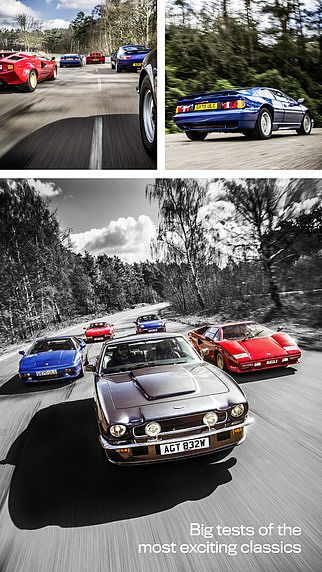 Classic Cars Magazine: restoring  pour mac
