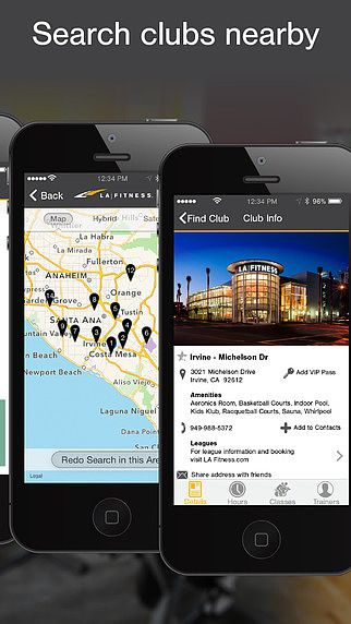 LA Fitness Mobile pour mac