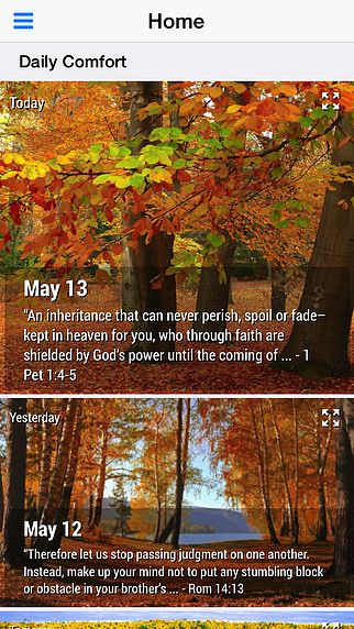 Daily Comfort - Bible Devotional (Lite) pour mac
