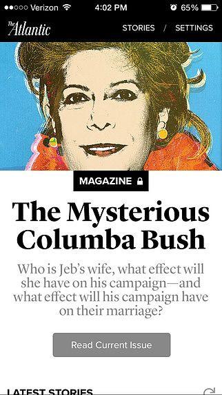 The Atlantic Magazine: Digital Edition pour mac
