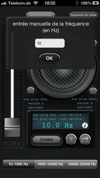 Générateur de son pour mac