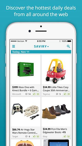 Saviry - Deals, Freebies, Sales - best online shopping FREE pour mac