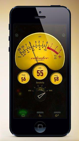 Sonomètre - VU-mètre pour mac