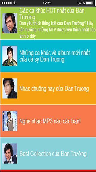 Ca si Dan Truong - Album Nhac va Hinh Anh tuyen chon pour mac