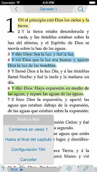 Santa Biblia pour mac