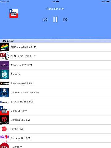 Las radios de chile : Top Chilian Radio pour mac
