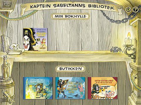 Kaptein Sabeltanns bibliotek pour mac