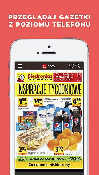 Kupony, gazetki, promocje - Qpony pour mac