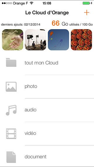 Le Cloud d'Orange pour mac