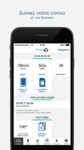 Espace Client Mobile Bouygues Telecom pour mac