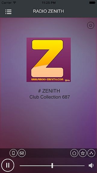 Zenith Radio pour mac