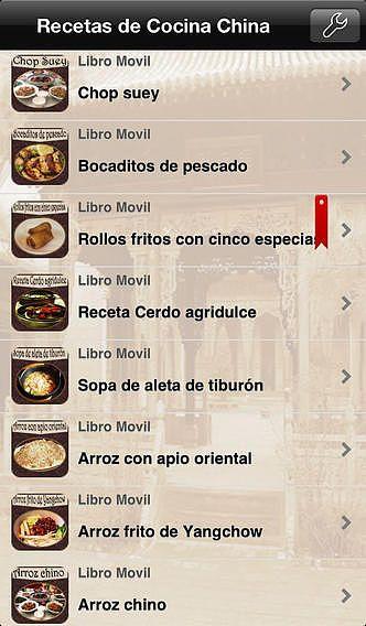 Recetas de Cocina China pour mac