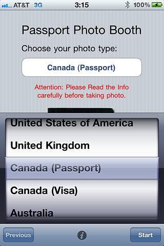 Passport Photo Booth pour mac