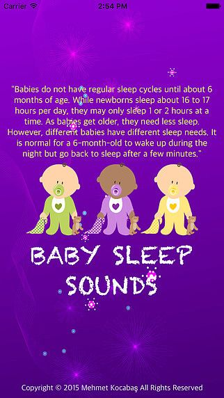 Baby Sleeping Sounds pour mac