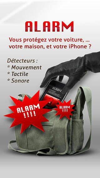 Alarme anti-vol LITE : Protect your device pour mac