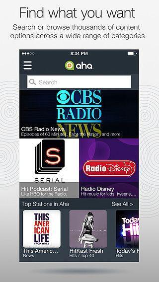 Aha Radio pour mac