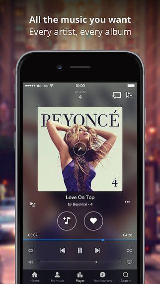 Deezer Music pour mac