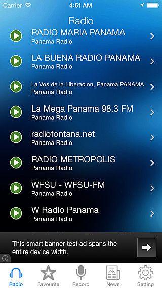 Panama Radio News Music Recorder pour mac