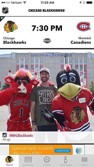 Chicago Blackhawks pour mac