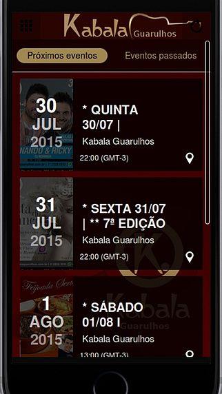 Kabala Guarulhos - A Melhor Balada da Cidade pour mac