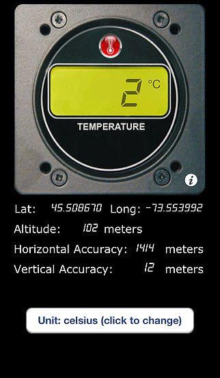 Thermomètre Digital GRATUIT pour mac