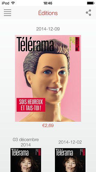 Télérama Magazine pour mac
