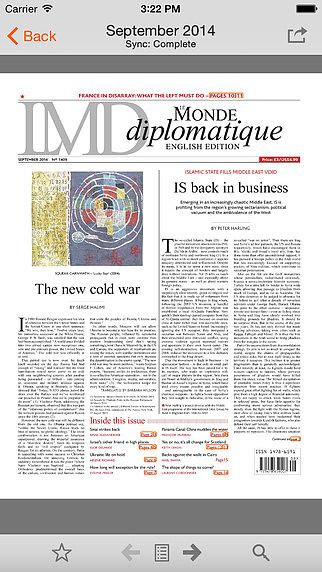 Le Monde diplomatique, English edition pour mac