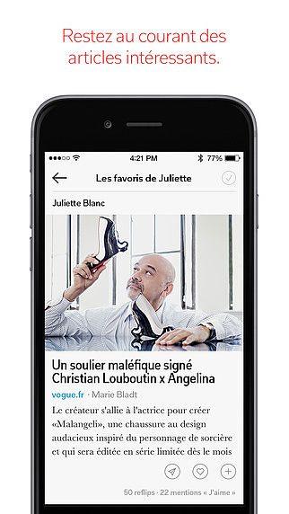 Flipboard: L'actualité de votre magazine social pour mac