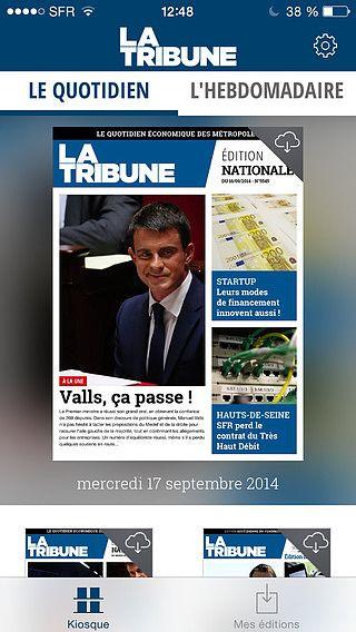 La Tribune - Le Quotidien  pour mac