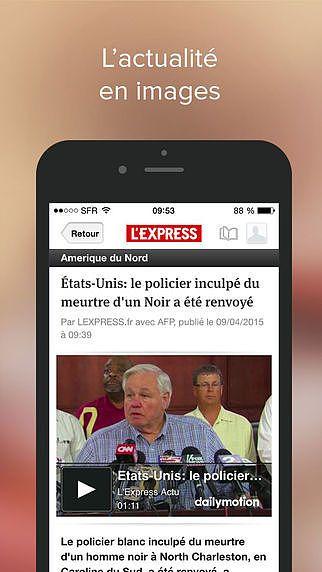 L'Express : l'actualité en temps réel pour mac
