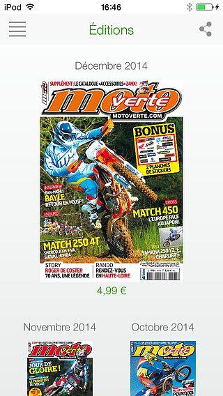 Moto Verte Magazine pour mac