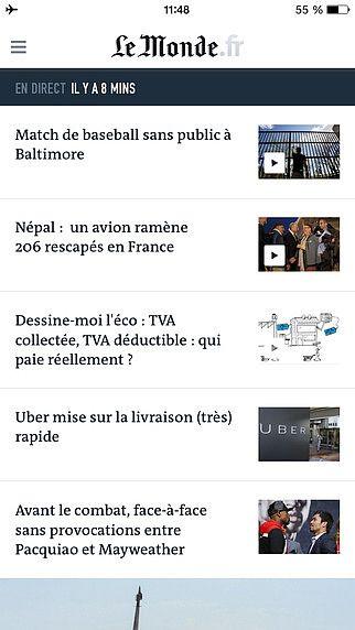 Le Monde, l'info en continu pour mac
