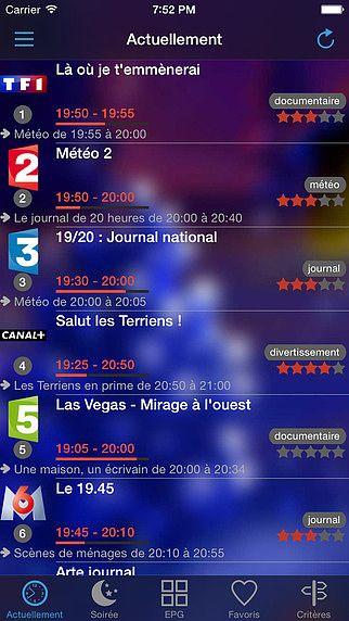 SoTV, programme TV pour mac
