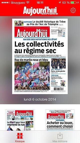 Aujourd'hui en France - Le journal pour mac
