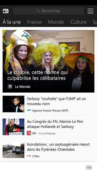 MSN Actualité pour mac