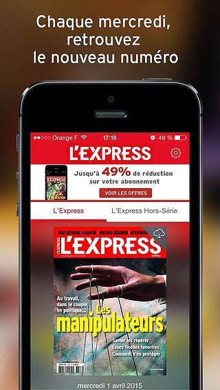 L'Express - Magazine pour mac