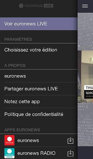 Euronews LIVE pour mac