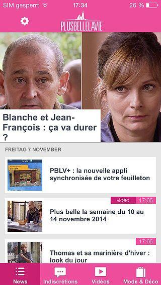 Plus Belle La Vie : news, vidéos et indiscrétions pour mac