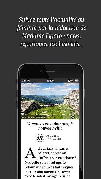 Madame Figaro : le news féminin pour mac