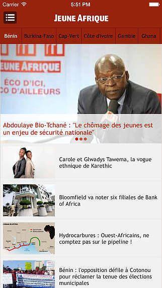 Jeune Afrique pour mac