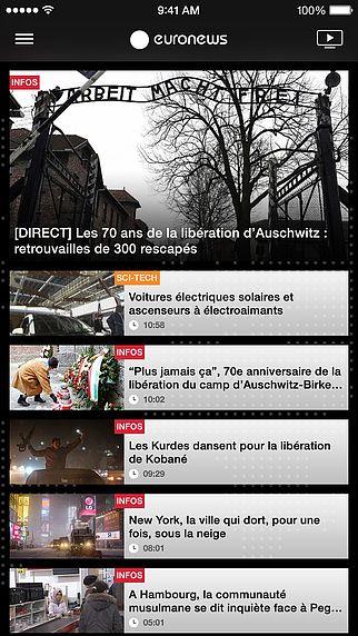 Euronews pour mac